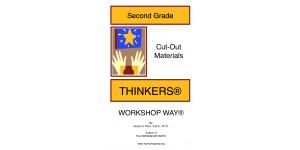 2nd grade THINKER cover