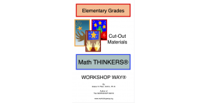 Elementary Grades Math THINKERS cover