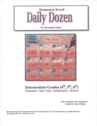 Daily Dozen Task - Place Value & Numeration